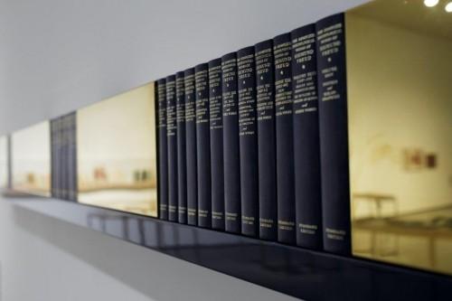 """Fragments no darba """"Margrēta - kādas mīlas dēkas hronika. 1969. gada maijs-1970. gada decembris."""" Galerijas Delmes _ Zander īpašums, Ķelne, Vācija"""