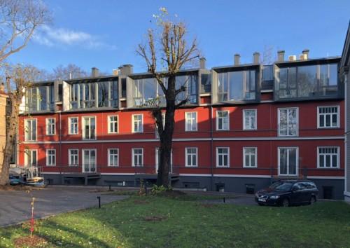 Laimes ābeles, ēku komplekss, Lapu iela 19–19a, Rīga