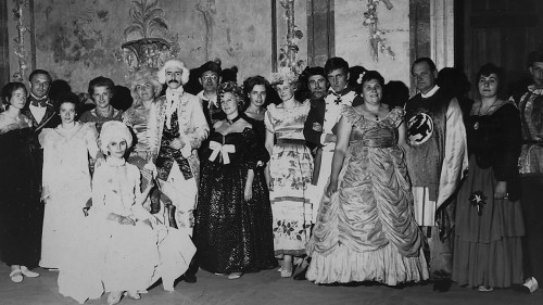 Imanta Lancmaņa kāzas Rundāles pilī; foto no I. Lancmaņa personīgā arhīva