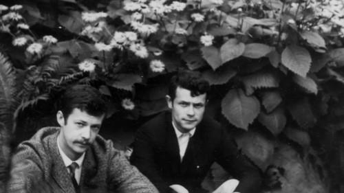 Māris Bišofs un Juris Pudāns, Esplanāde; M. Brašmanes foto