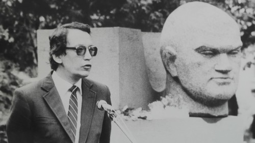 Jānis Rokpelnis, Dzejas dienas; foto no J. Rokpeļņa personīgā arhīva