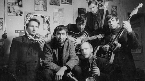 Imants Kalniņš ar grupu 2BBM; foto no I. Kalniņa personīgā arhīva