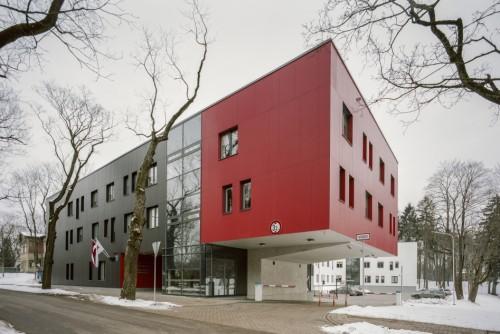 Sabiedriskas ēkas: Rīgas Stradiņa universitātes dienesta viesnīcas jaunbūve