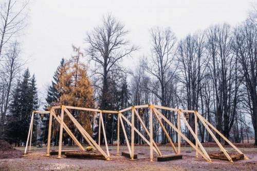 Pieturvieta RUCKA, autori Nomad Architects