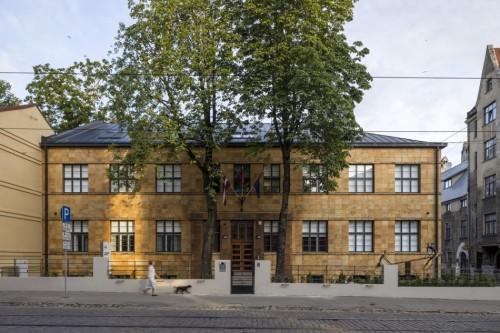 Biroja ēkas pārbūve Miera ielā. Autori: 'Didrihsons arhitekti'
