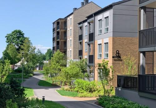 Lindenholma – dzīvojamās apbūves 1. kārta. Autori: 'Didrihsons arhitekti', 'Linia', 'Labie koki', 'IN4 Design Ideas'